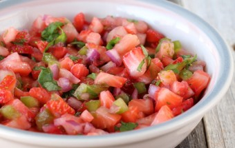 Strawberry Salsa | Cooks Joy