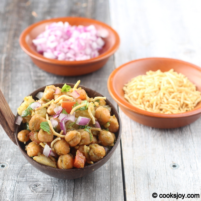 Potato Channa Chaat | Cooks Joy