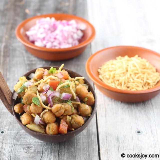 Potato Channa Chaat | Cooks Joy