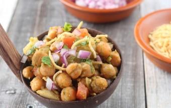 Potato Channa Chaat   Cooks Joy