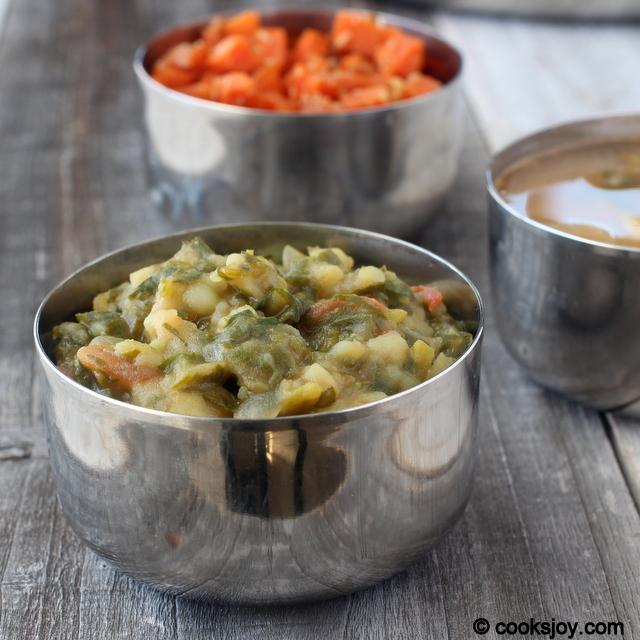 Aloo Methi (Potato Fenugreek Curry) | Cooks Joy