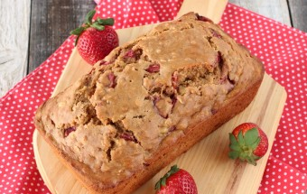 Banana Strawberry Bread | Cooks Joy