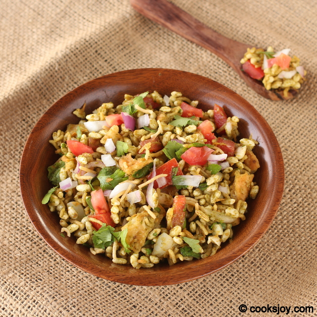 Bhel Puri with Papdi | Cooks Joy