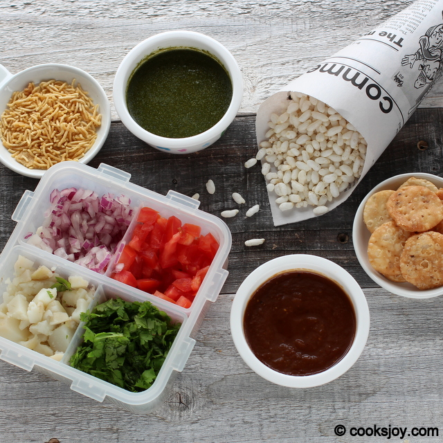 Ingredients for Chaat | Cooks Joy