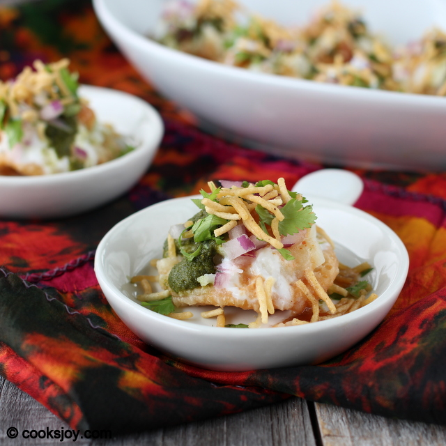 Yogurt Papdi Chaat | Cooks Joy