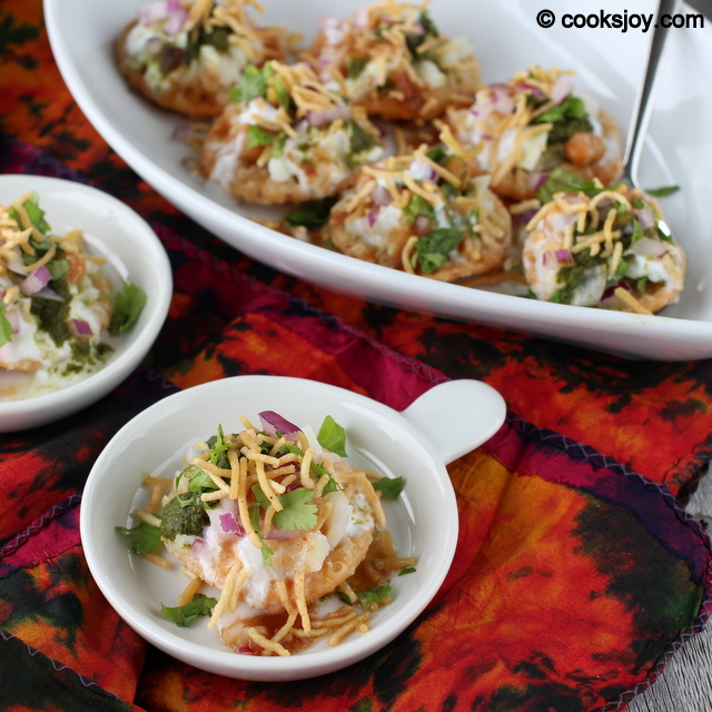 Dahi (Yogurt) Papdi Chaat | Cooks Joy