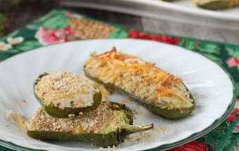 Jalapeno Poppers using Greek Yogurt | Cooks Joy