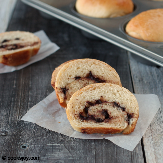 Hokkaido Stuffed Bread with Tangzhong | Cooks Joy