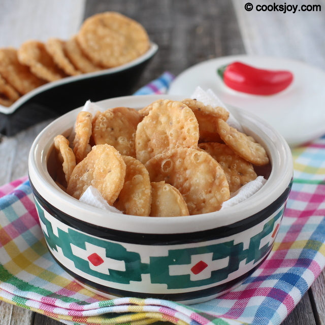 Papdi for Chaat | Cooks Joy