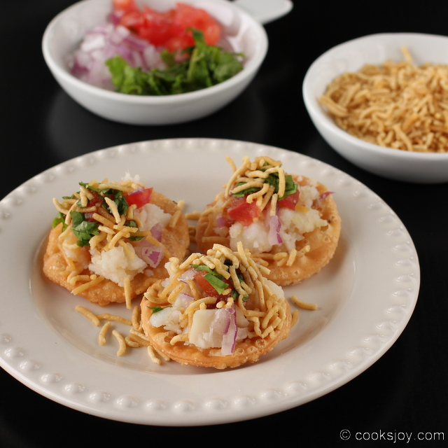 Sev Papdi (Puri) Chaat | Cooks Joy