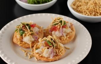 Sev Papdi (Poori) Chaat | Cooks Joy