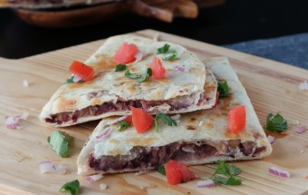 Red Kidney Bean Quesadilla | Cooks Joy