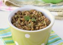 Snow Peas Cashew Curry