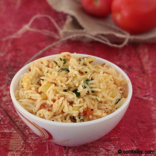 Tomato Rice   Cooks Joy