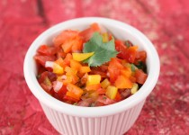 Colored Pepper Salsa