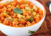 Carrot Lentil Poriyal (Fry)