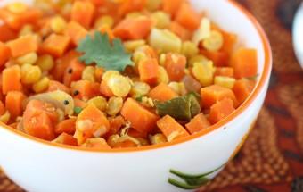 Carrot Lentil Poriyal | Cooks Joy