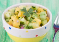 Cucumber Pineapple Salad