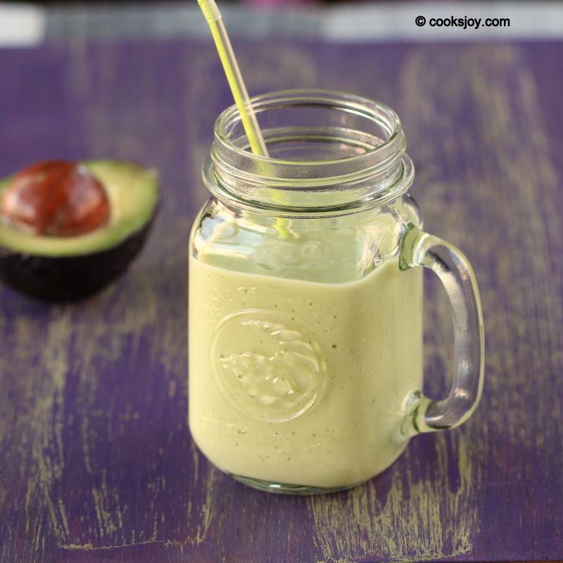 Cooks Joy - Avocado Banana Milkshake (Smoothie)