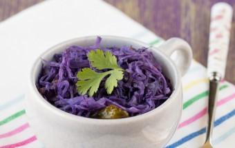 Purple Cabbage Poriyal | Cooks Joy