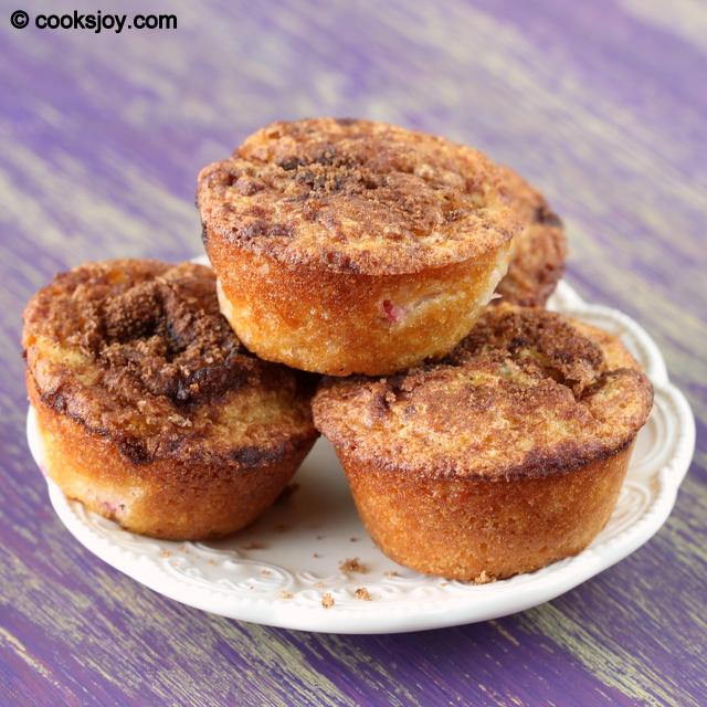 Rhubarb Muffins | Cooks Joy