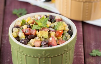 Bean Corn and Avocado Salad | Cooks Joy