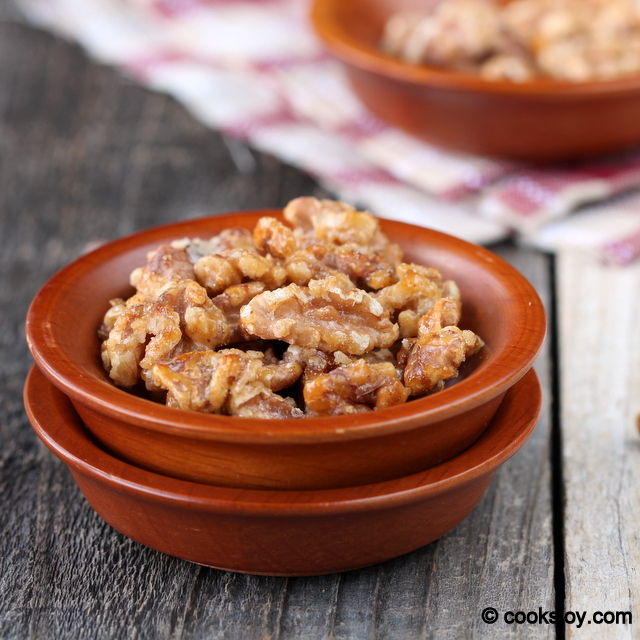 Candied Nuts | Cooks Joy