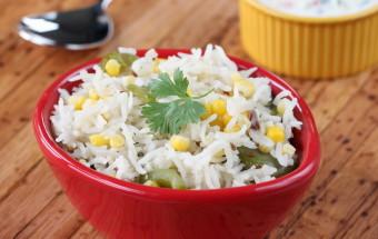 Corn Capsicum Pulao | Cooks Joy