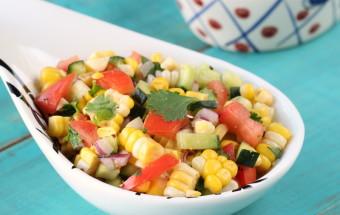 Corn Chaat (Corn Salad) | Cooks Joy