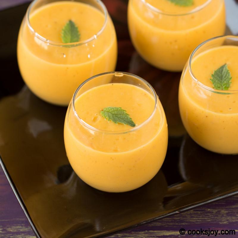 Cooks Joy - Mango Banana Flax Smoothie