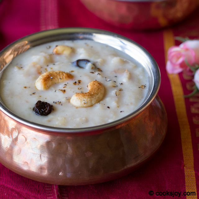 Apple Oats Kheer | Cooks Joy