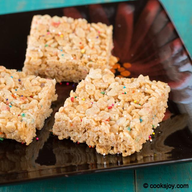 Rice Krispies Treats   Cooks Joy