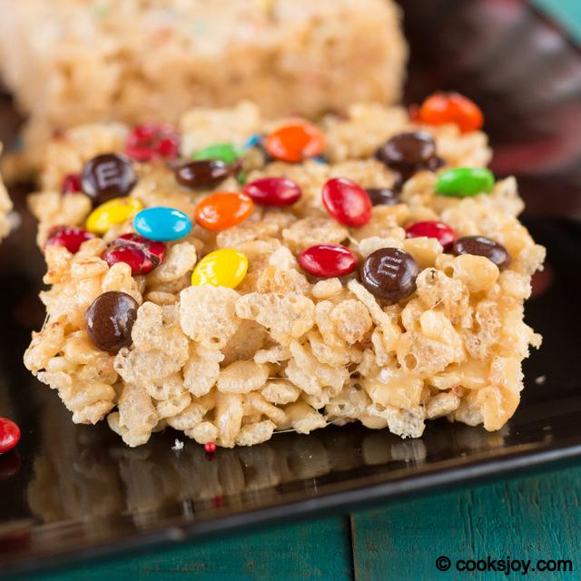 Rice Krispies Treats with Peanut Butter   Cooks Joy