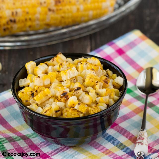 Roasted Corn Chaat | Cooks Joy