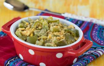 Capsicum Paruppu Usili | Cooks Joy