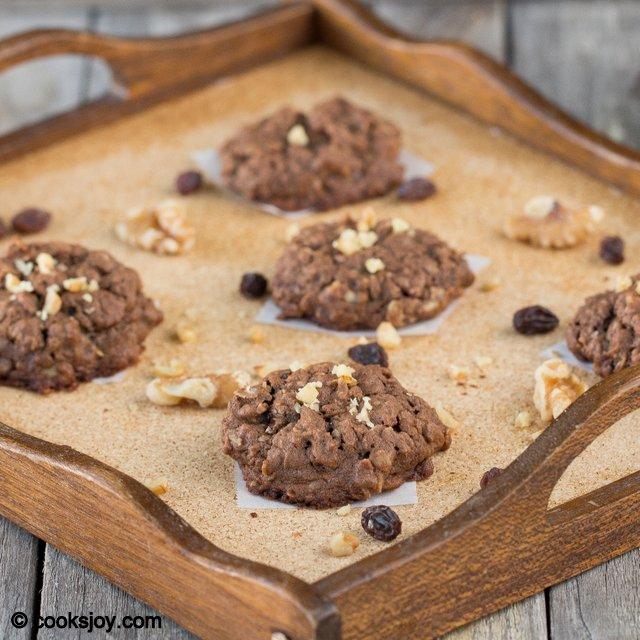 Chocolate Oatmeal Cookies | Cooks Joy
