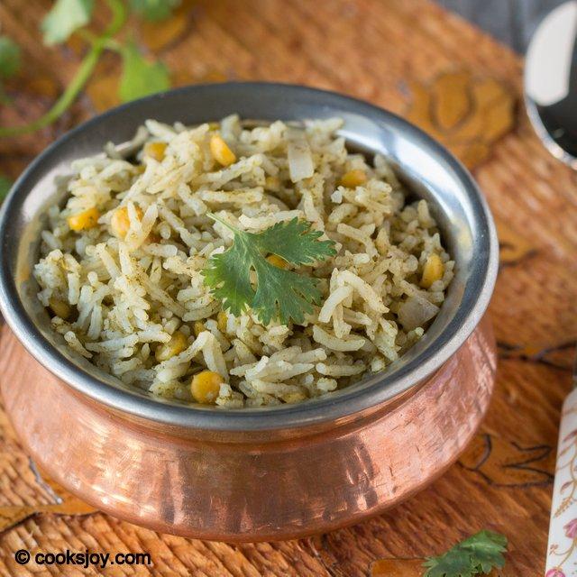 Kothamalli Saadam | Cooks Joy