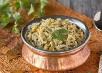 Cilantro Lentil Rice