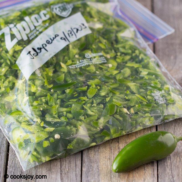 Freezing Jalapenos | Cooks Joy
