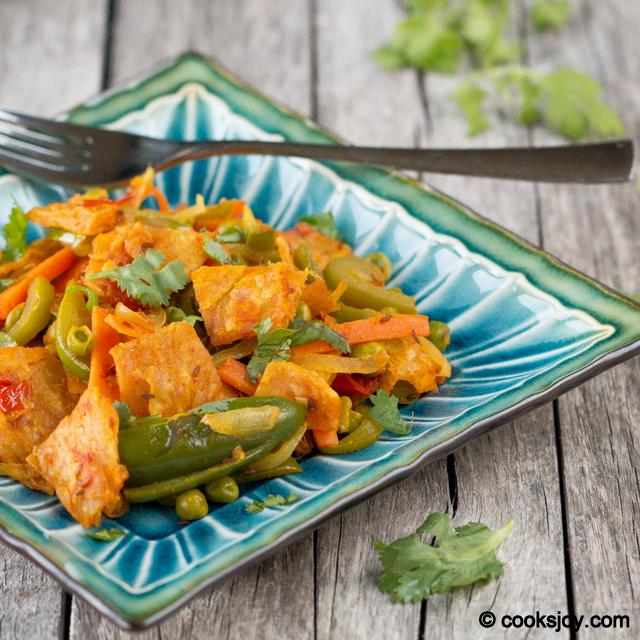 Eggless Kothu Paratha | Cooks Joy
