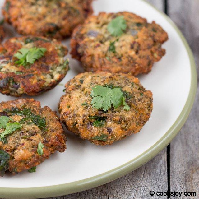 Moong Sprout Masala Vadai | Cooks Joy