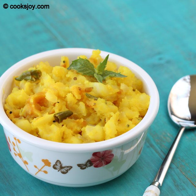 Potato Puttu | Cooks Joy