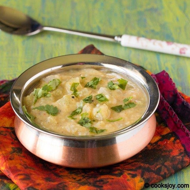 Cucumber Lentil Gravy | Cooks Joy