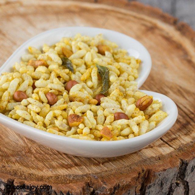 Kara Pori (Spicy Puffed Rice) | Cooks Joy