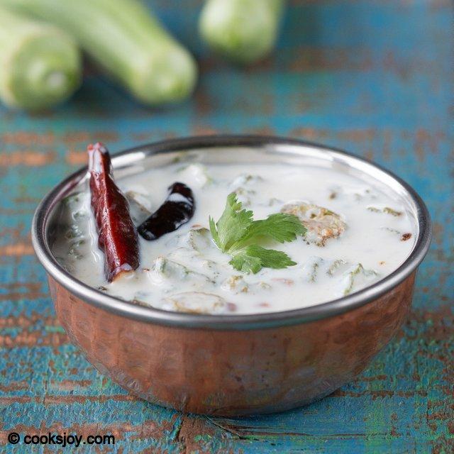 Venkakkai Pachadi | Cooks Joy
