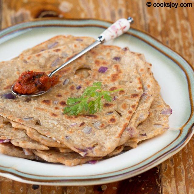 Pyaz Paratha | Cooks Joy
