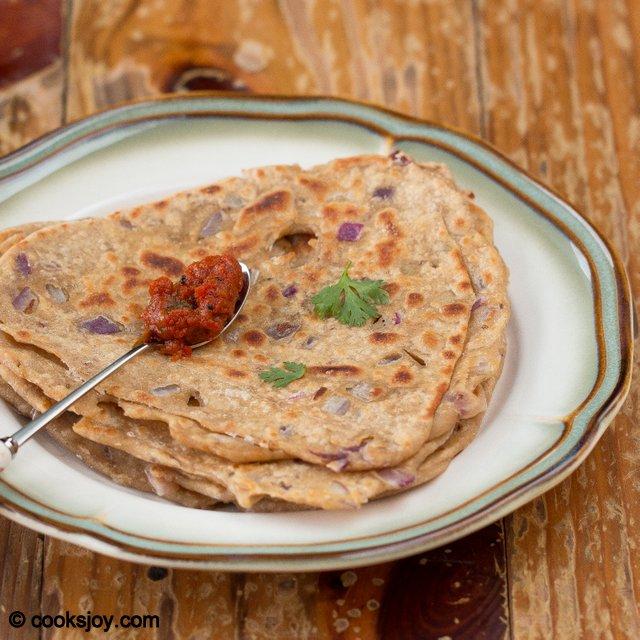 Onion Paratha | Cooks Joy