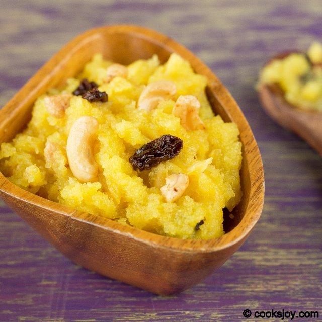 Pineapple Rava Kesari | Cooks Joy
