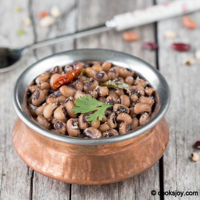 Sweet Black Eyed Peas Sundal | Cooks Joy
