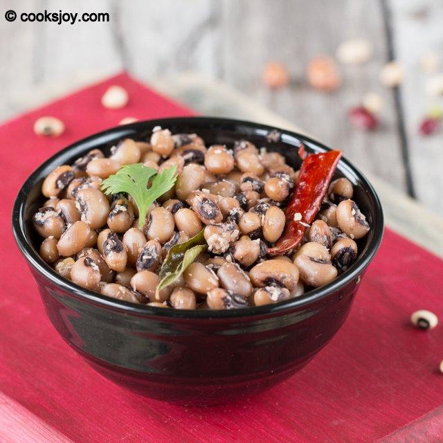 Kaaramani Vella Sundal | Cooks Joy